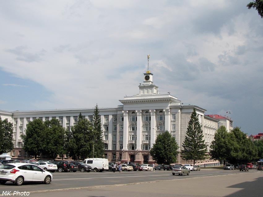 Одно из зданий республиканской администрации