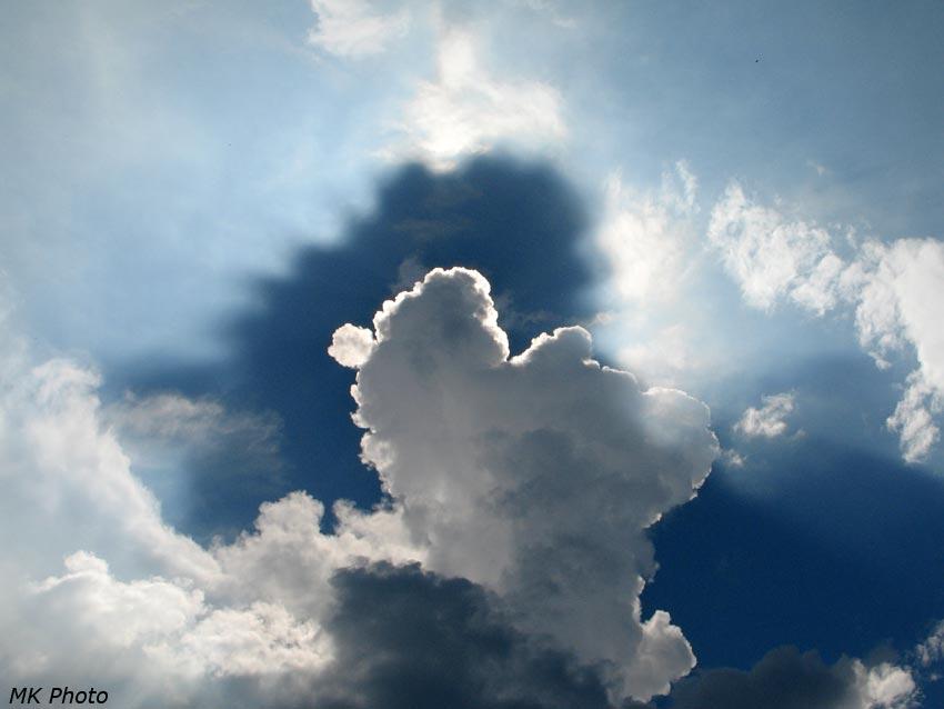 Облако и его тень