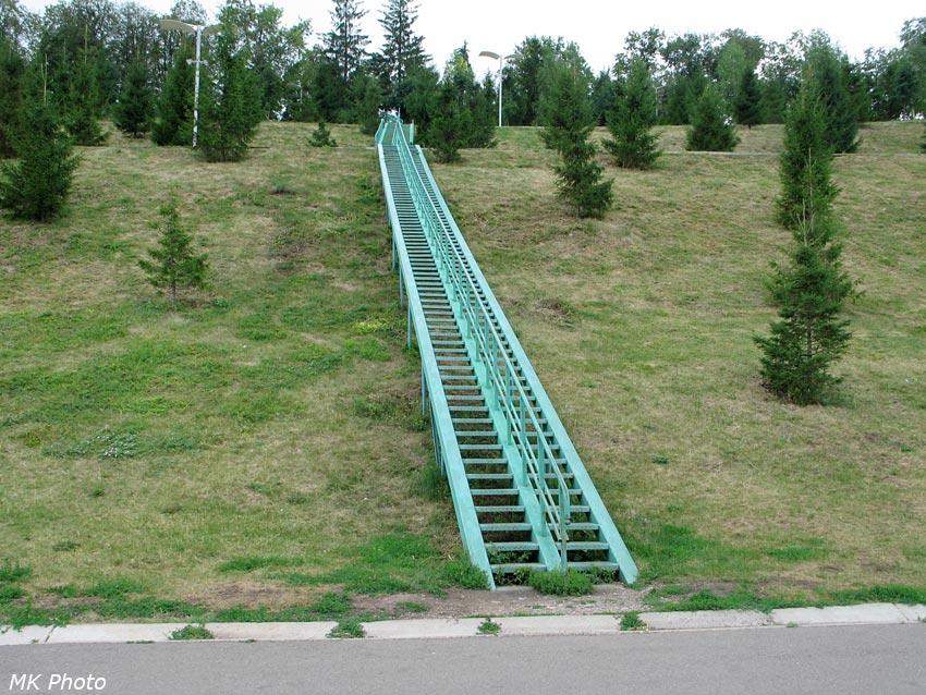 Зелёная лестница