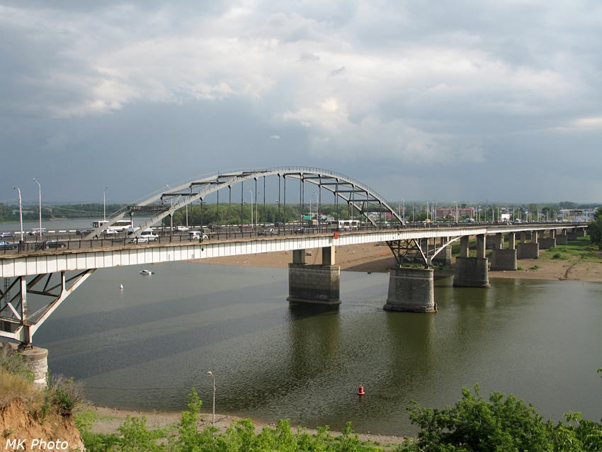2 моста через Белую