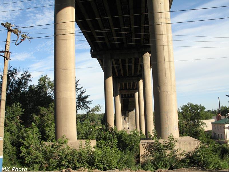 Автомобильный мост через Белую