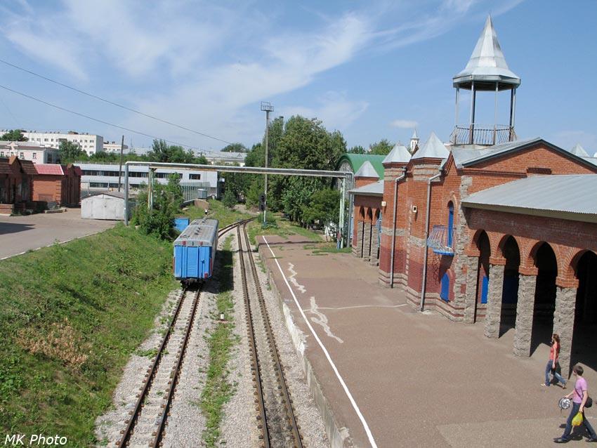 Вокзал станции Юность