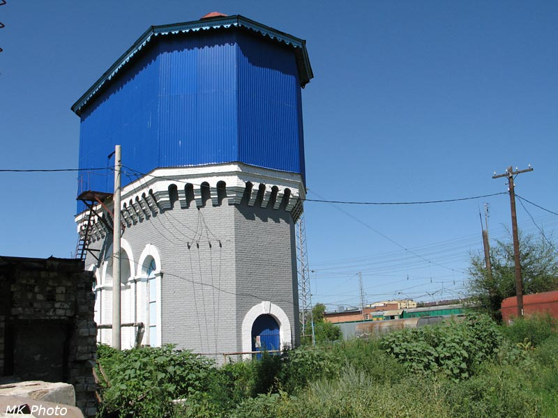 Водонапорная башня на ст. Похвистнево