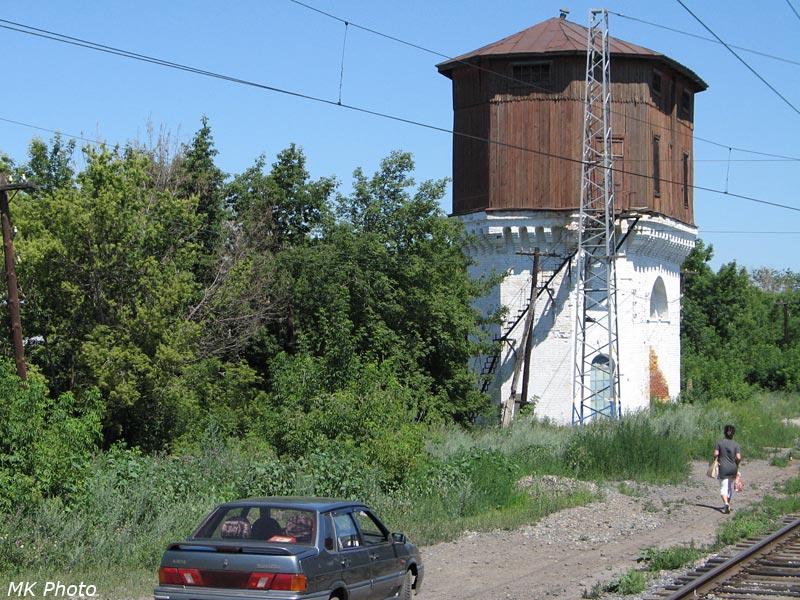 Водонапорная башня на ст. Подбельская