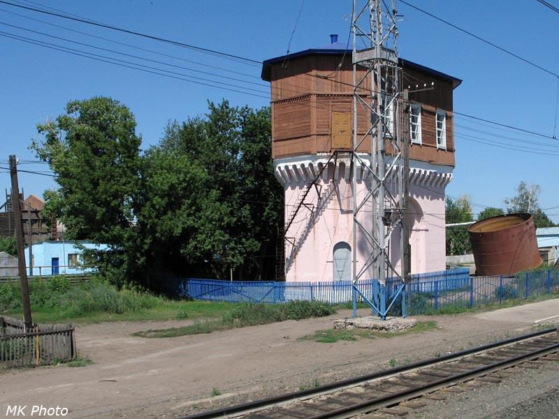 Водонапорная башня на ст. Кротовка