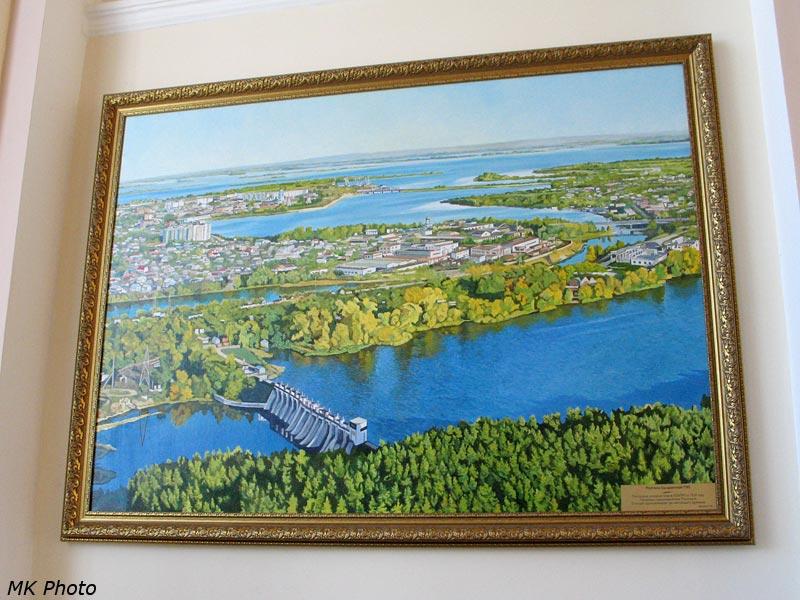 Плотина Сызранской ГЭС