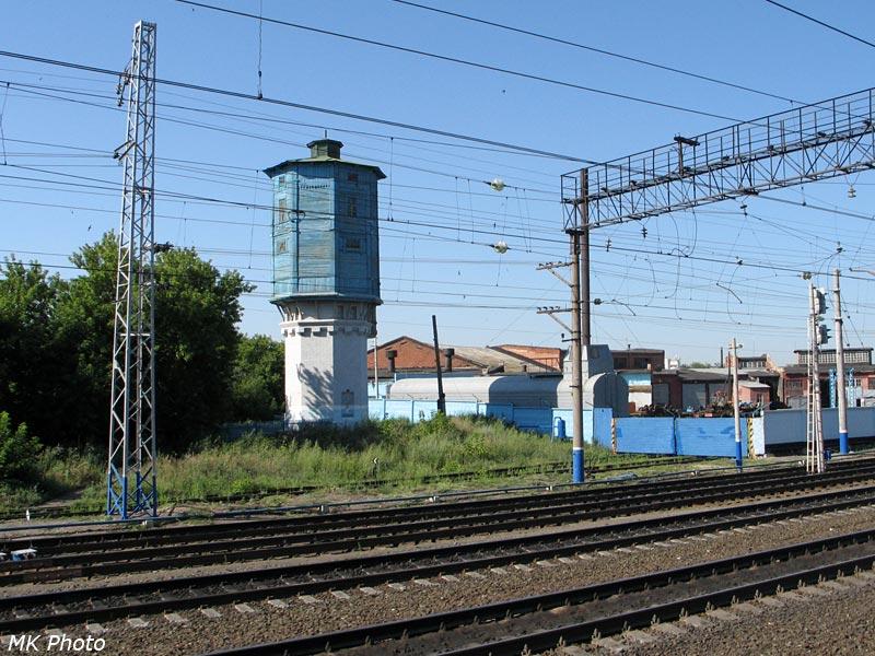 Водонапорная башня на ст. Сызрань-2