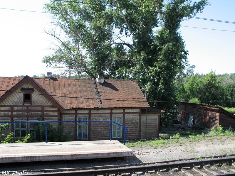 Бывший вокзал Коптевка