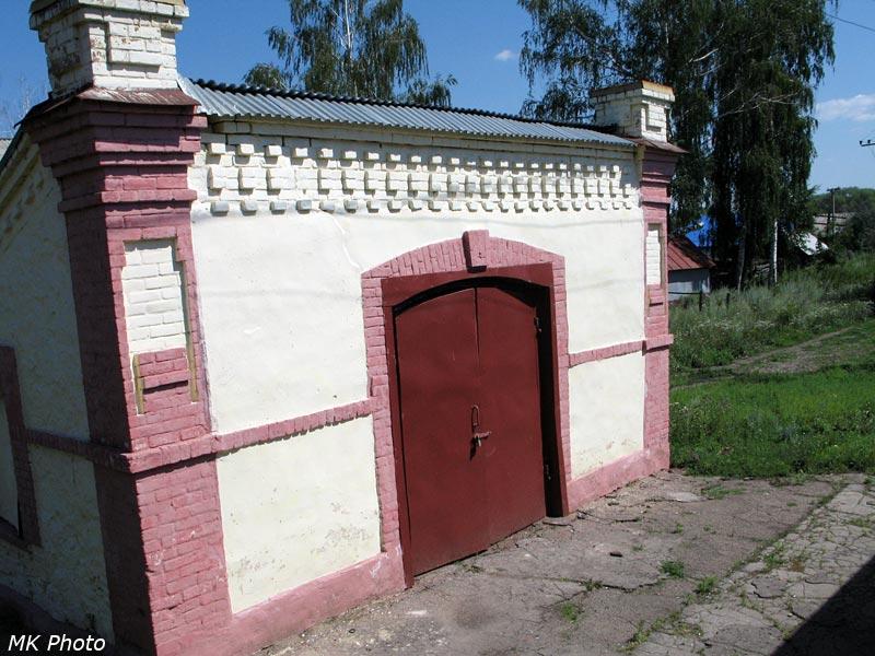 Служебный домик на ст. Евлашево
