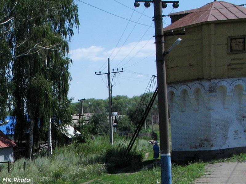 Водонапорная башня на ст. Евлашево
