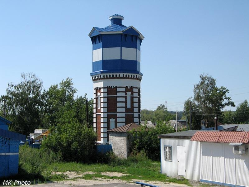 Водонапорная башня на ст. Чаадаевка