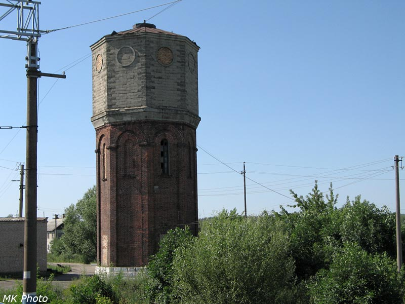 Водонапорная башня на ст. Леонидовка