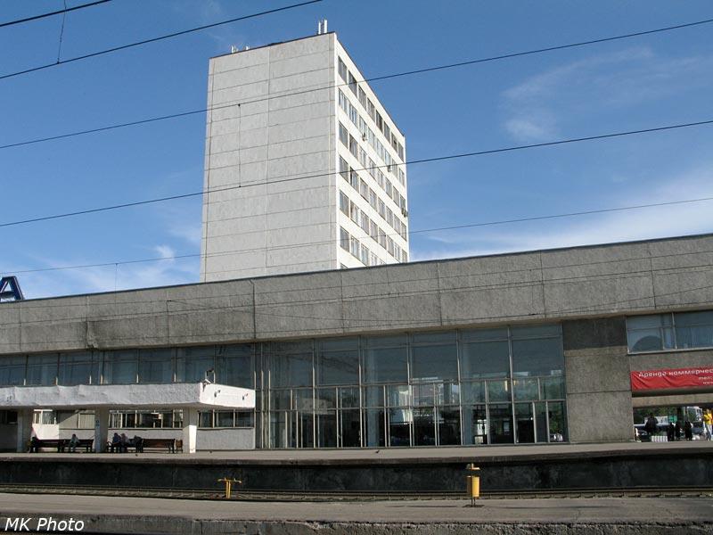 Многоэтажная часть вокзала