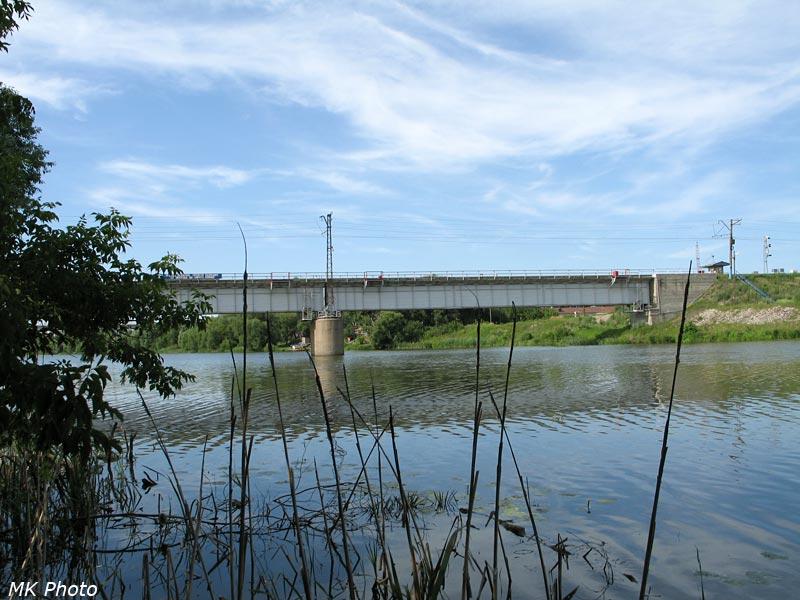 Мост через Суру между Пензой-I и Пензой-II