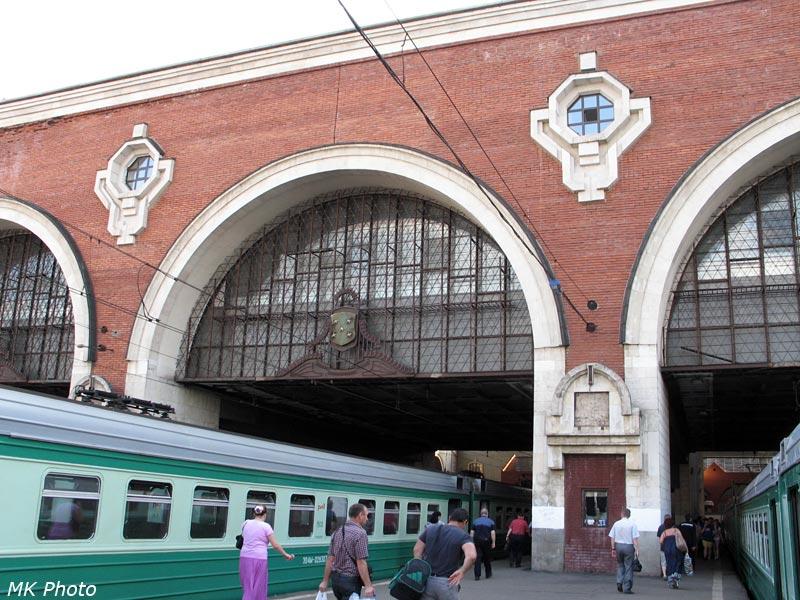 Дебаркадер Казанского вокзала