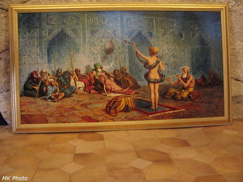 Картина на выставке