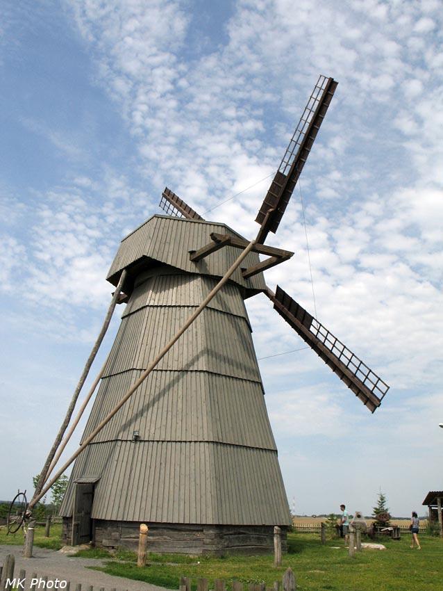 Ветряная мельница в Дудутках