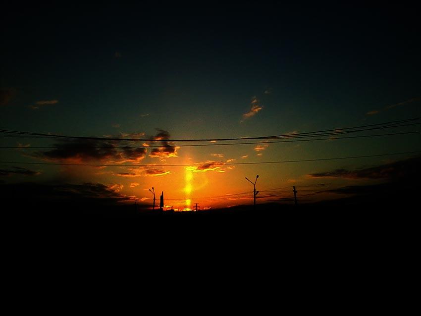 Солнечный луч