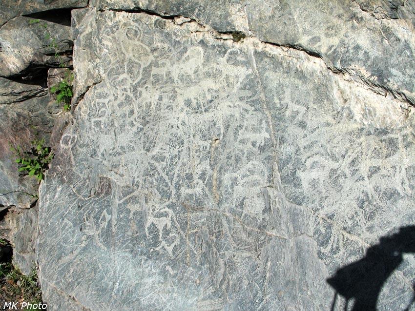 Петроглифы в гроте Куйлю