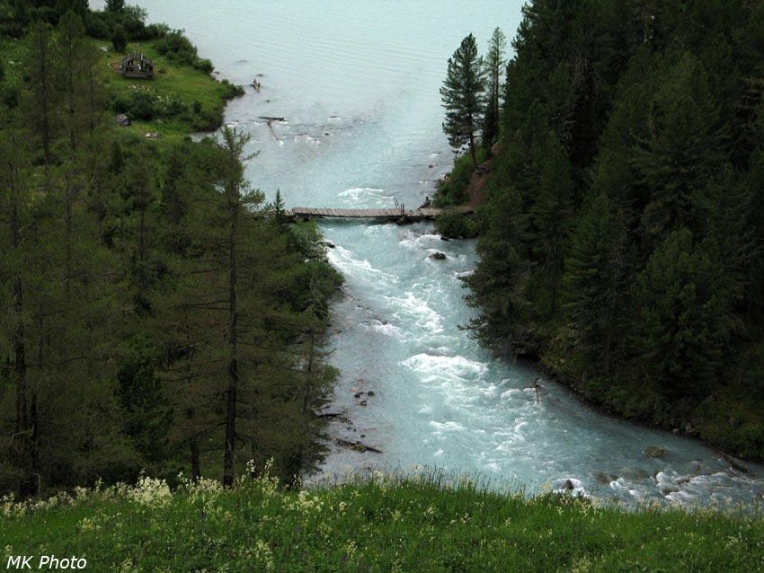 Исток Кучерлы из озера