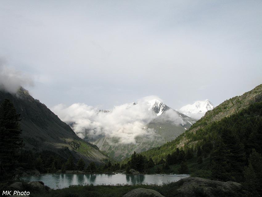 Вид на горы за долиной Кучерлы