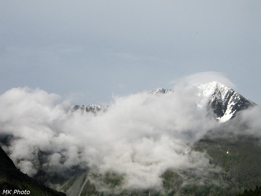 Горы за долиной Кучерлы
