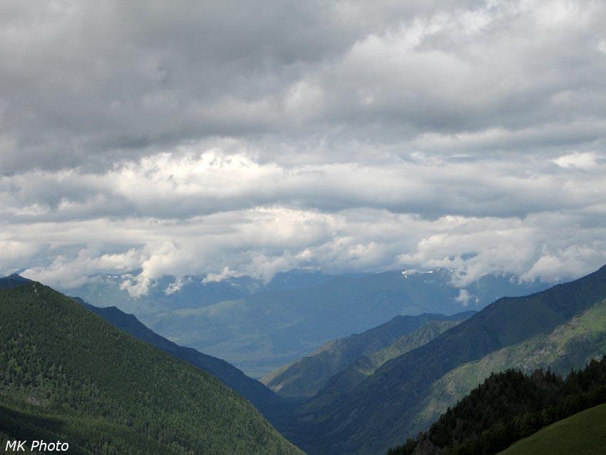 Поворот кучерлинской долины