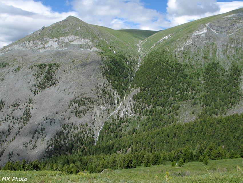 Водопадный приток Текелюшки