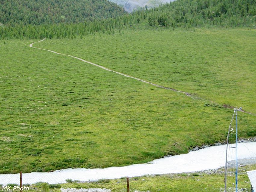 Конная тропа в урочище Ярлу