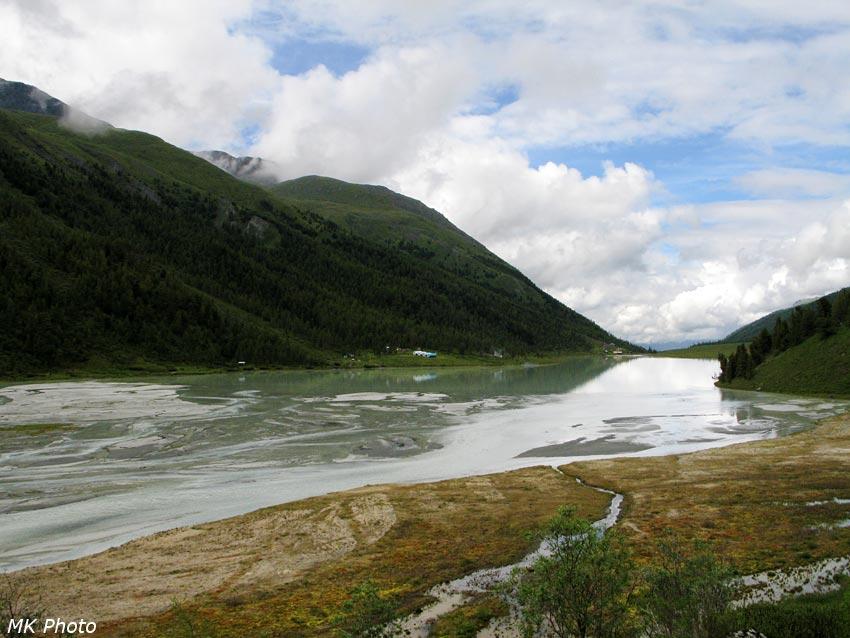Дельта Аккема и Аккемское озеро