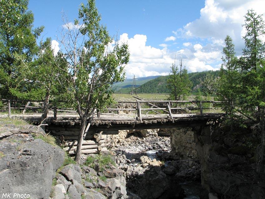 Старый мост через Сайлаг