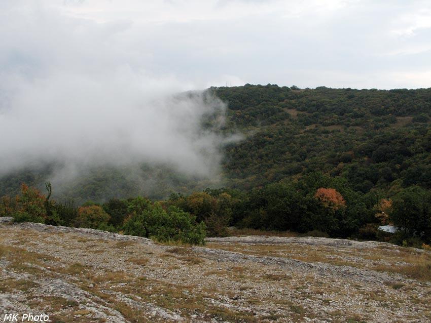 Хмурый крымский сентябрь