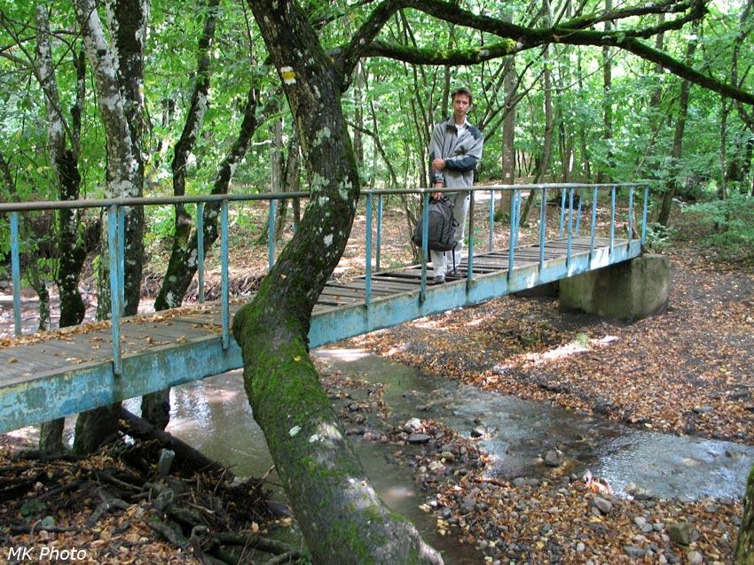 На мосту через Ангару