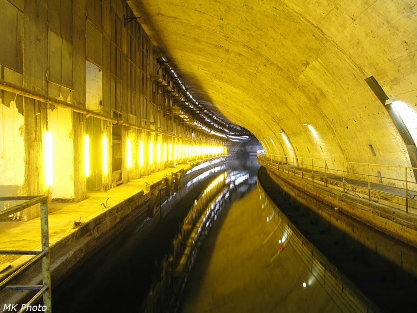 Освещённый канал