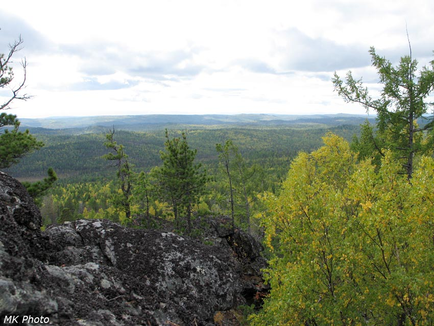 Вид со скальника
