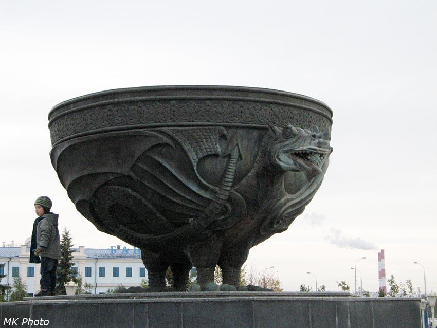 Фонтан в парке 1000-летия Казани