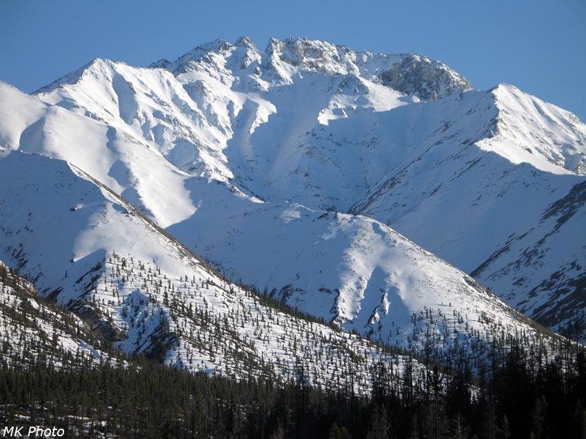 Горы за Ара-Ошеем