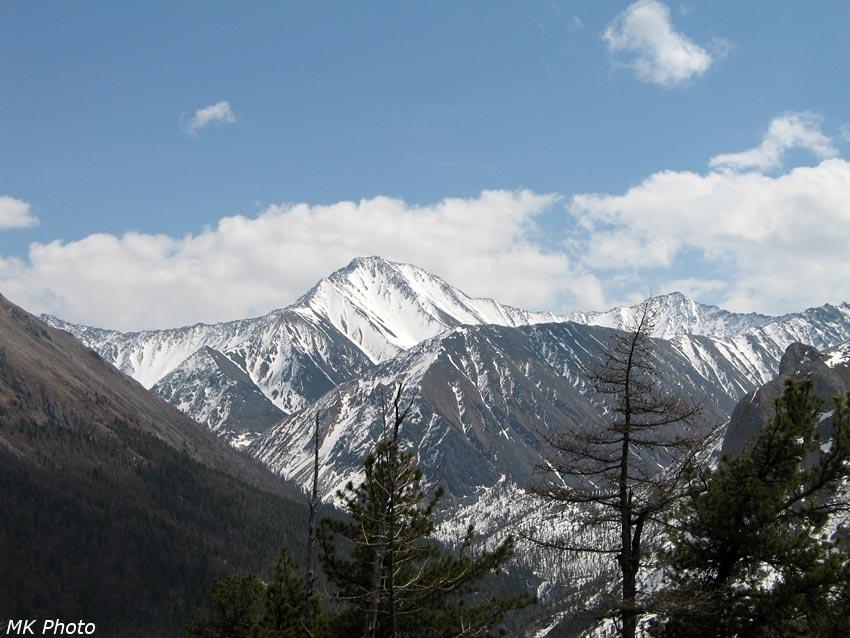 Вершина и перевалы