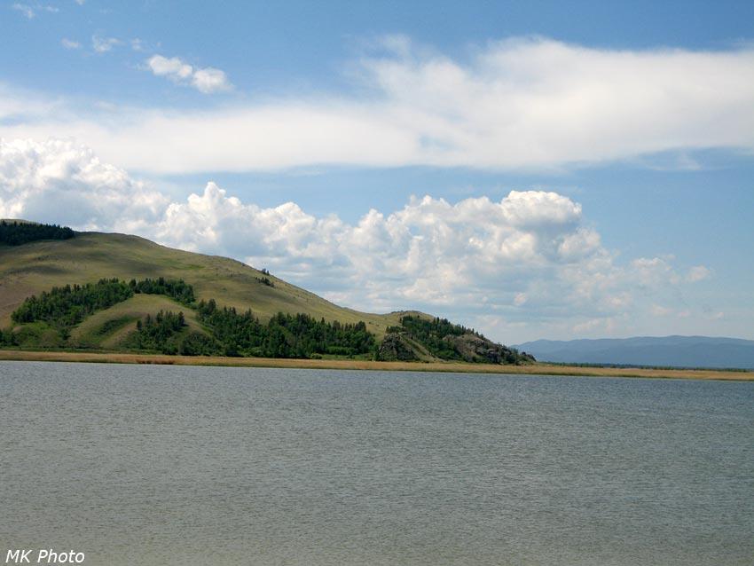 Большое Алгинское озеро