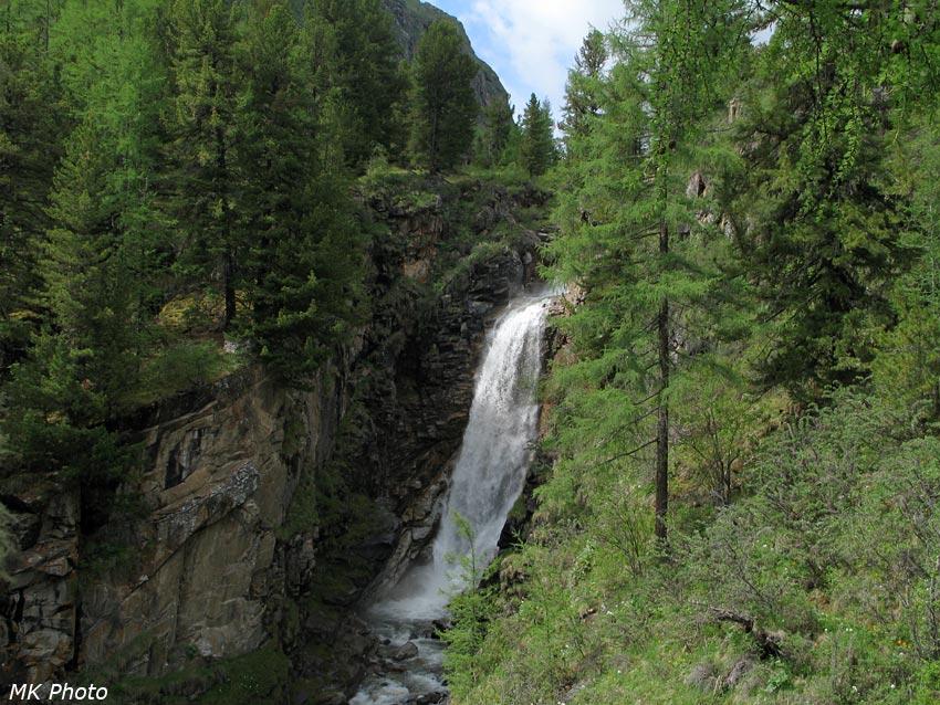 Хубытский водопад