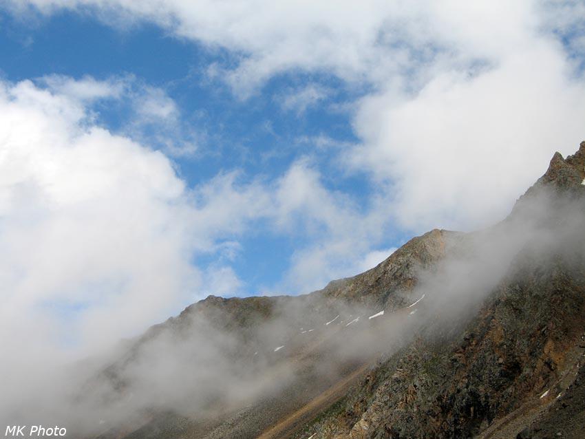 Посвежевшие горы