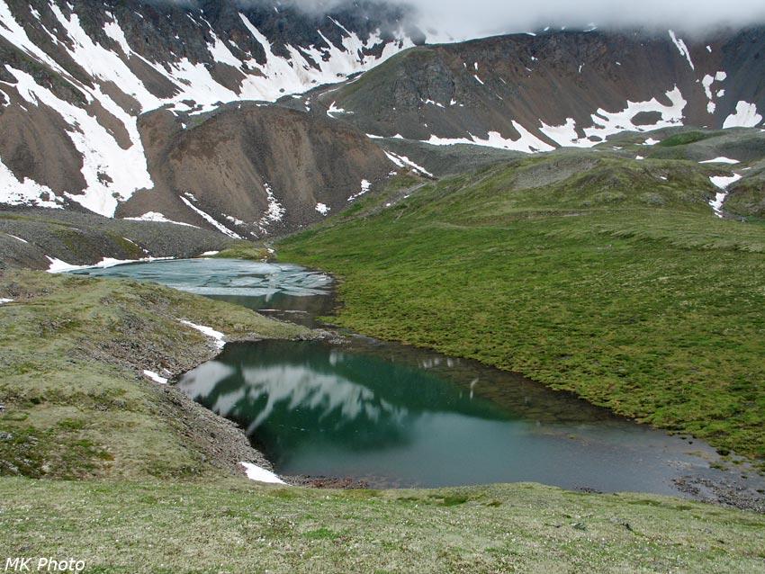 Озёра Ногон-Нур под Шумакским перевалом