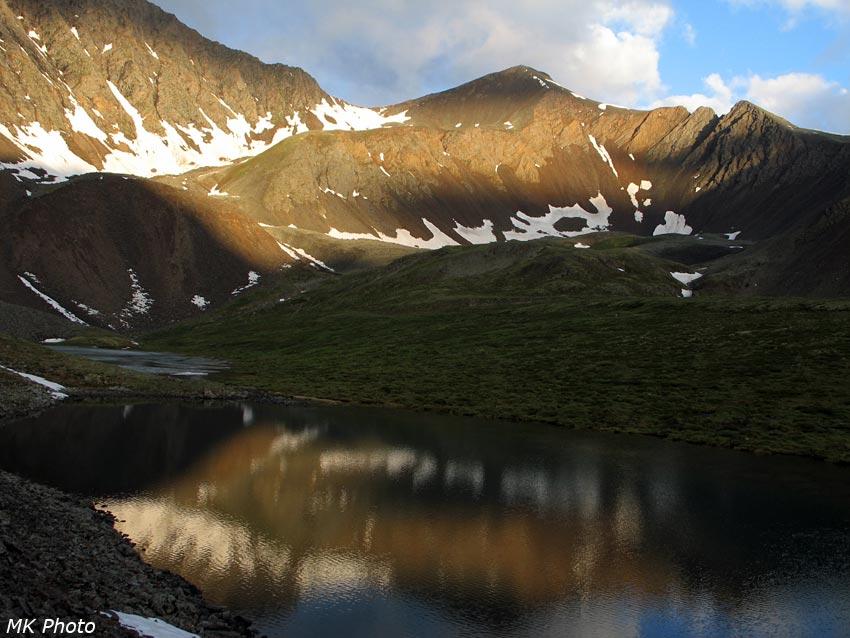 Шумакский перевал с отражением