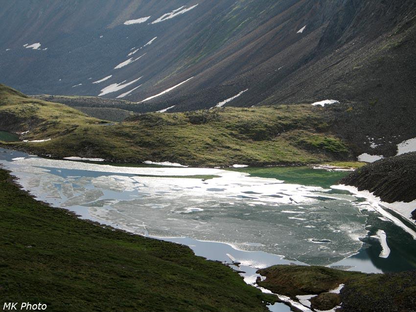 Верхнее озеро Ногон-Нур