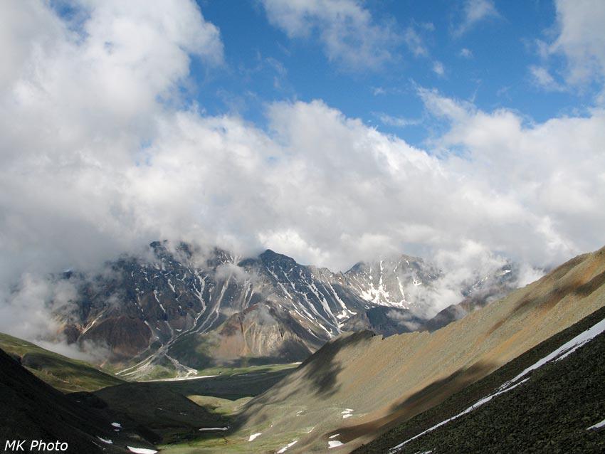 Вид с Шумакского перевала в сторону Ёхэ-Гера