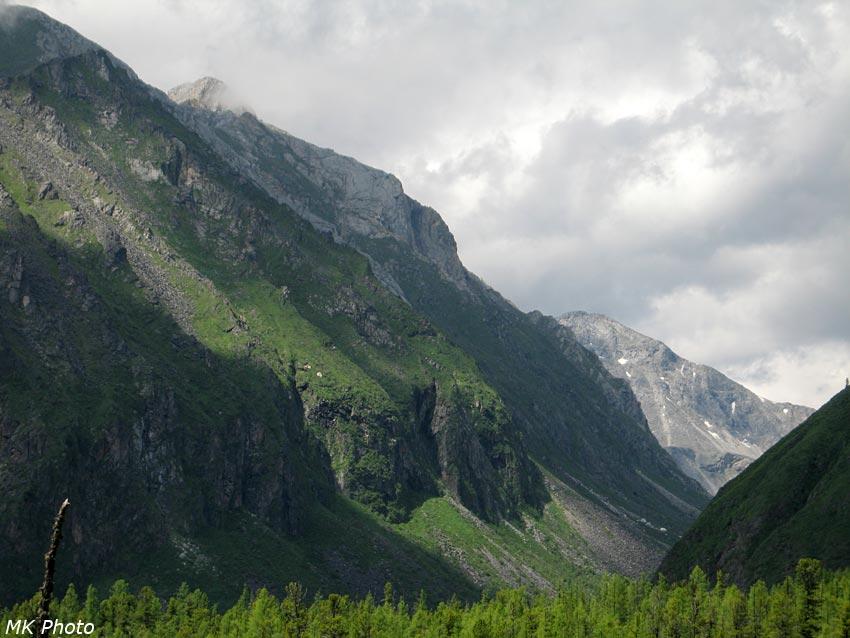 Вид на долину р. Хубыты