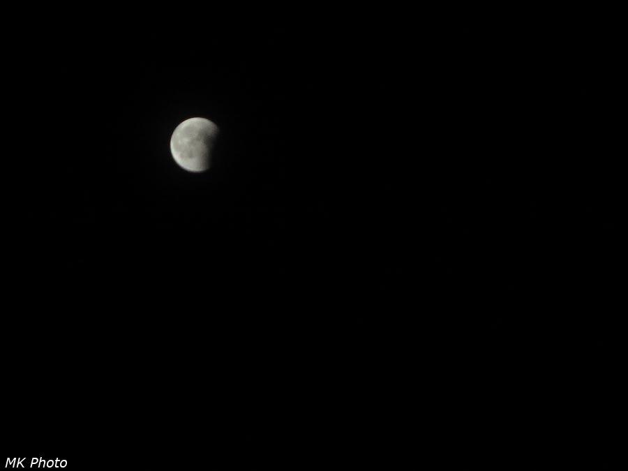Частная фаза лунного затмения
