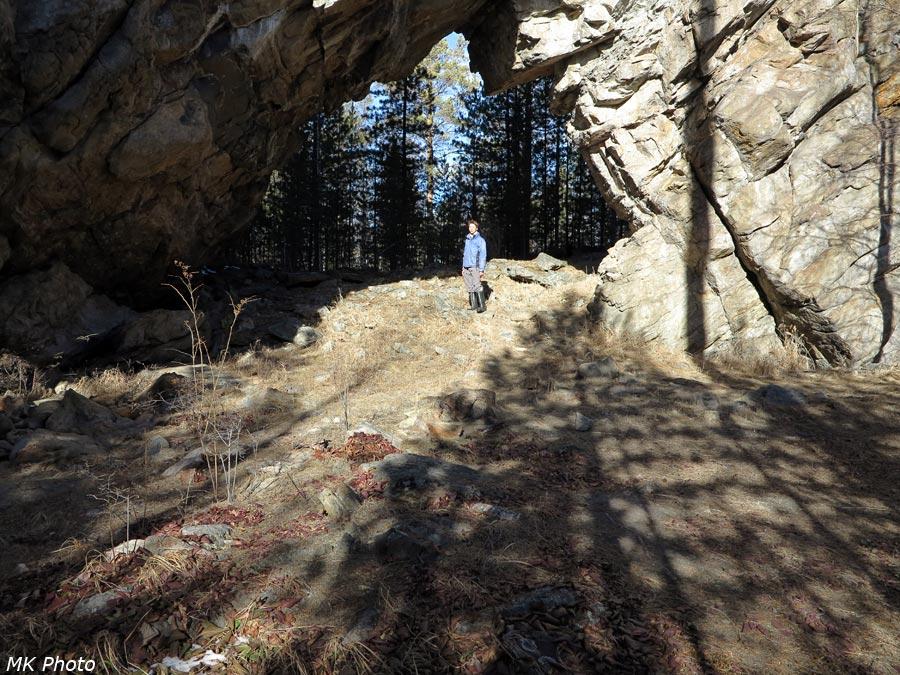 Под аркой Ворот