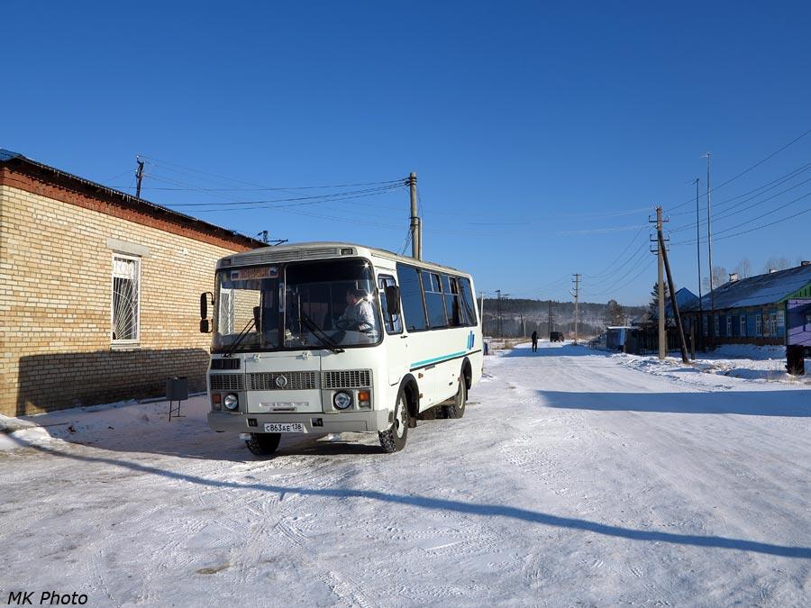 Автобус в Подкаменной