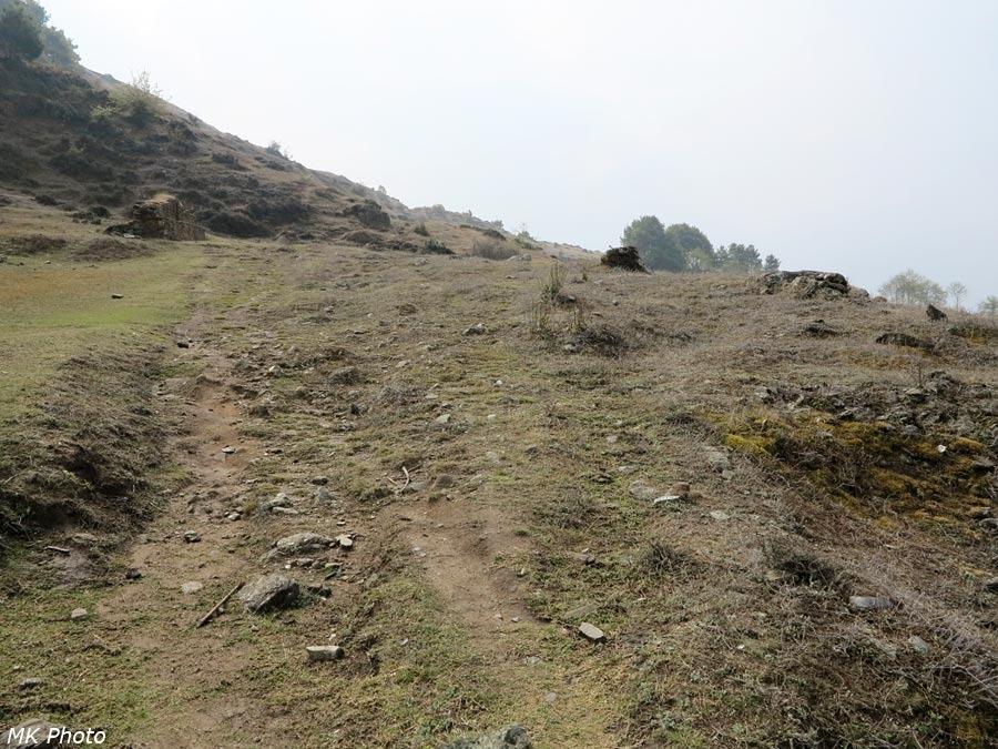 На подходе к перевалу